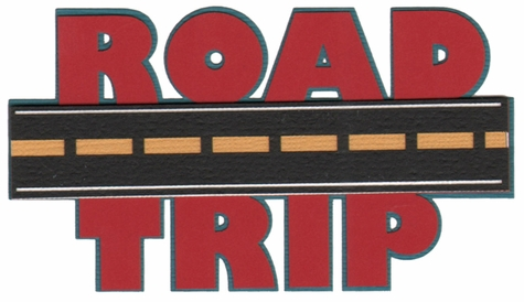 Road Trip Laser Die Cut