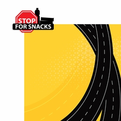 Road Trip: Stop for snacks 2 Piece Laser Die Cut Kit