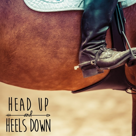 Rodeo: Head Up Heels Down 12 x 12 Paper