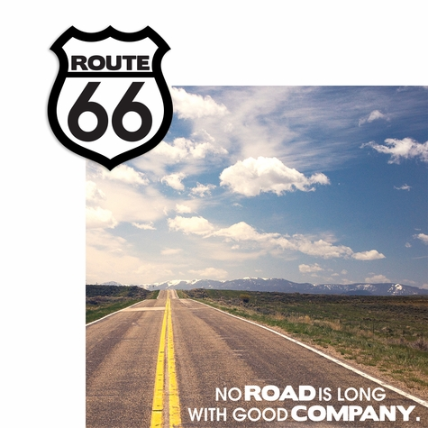 Route 66 2 Piece Laser Die Cut Kit