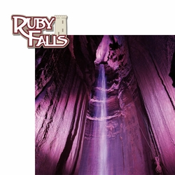 Ruby Falls 2 Piece Laser Die Cut