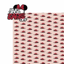RunDisney: Minnie Run your ears off 2 Piece Laser Die Cut Kit
