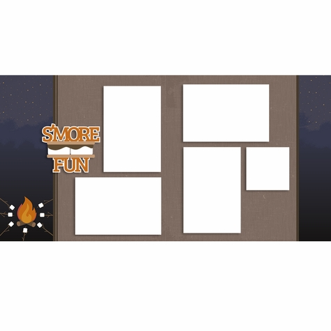S'more 2 Page Layout Kit