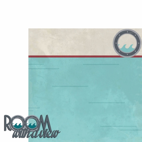 Sail Away: Room with a View 2 Piece Laser Die Cut Kit