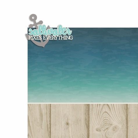 Saltwater 2 Piece Laser Die Cut Kit