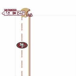 San Francisco 49ers: Go 49ers 2 Piece Laser Die Cut Kit