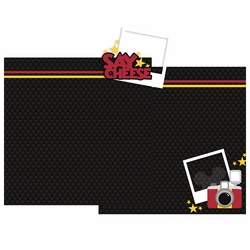 Say Cheese Double Page Layout Kit