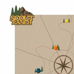Scout Ranch 2 Piece Laser Die Cut Kit