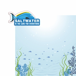 Scuba: Saltwater is the Cure 2 Piece Print and Cut Kit