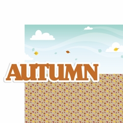 Seasons: Autumn 2 Piece Laser Die Cut Kit