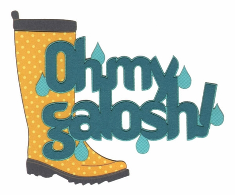 2SYT Seasons: Oh My Galosh Laser Die Cut