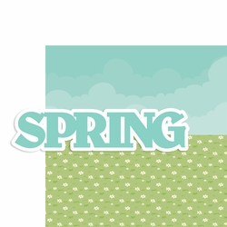 Seasons: Spring 2 Piece Laser Die Cut Kit