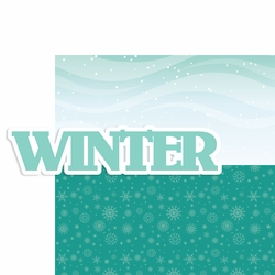 Seasons: Winter 2 Piece Laser Die Cut Kit