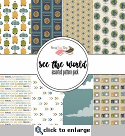 See the World Assorted 12 x 12 Paper Pack