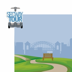 Segway Tour 2 Piece Laser Die Cut Kit