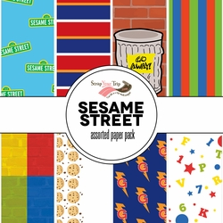 Sesame Street Assorted 12 x 12 Paper Pack