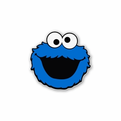 Sesame Street: Cookie Monster Laser Die Cut