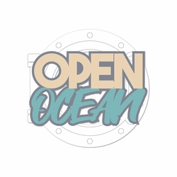 Set Sail: Open Ocean Laser Die Cut