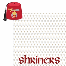 Shriners 2 Piece Laser Die Cut Kit