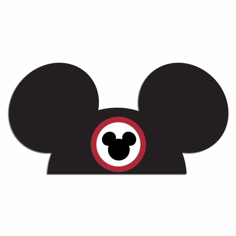 Silly Ears: Mouse Hat Laser Die Cut