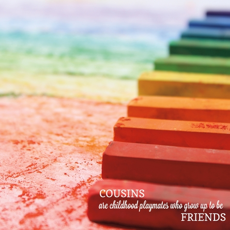 Simple Sayings: Cousins 12 x 12 Paper