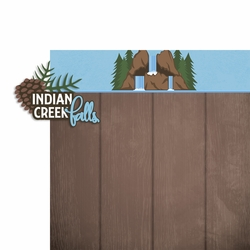 2SYT Smoky Mountains: Indian Creek 2 Piece Laser Die Cut Kit