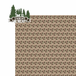 Smoky Mountains: Unwind & Relax 2 Piece Laser Die Cut Kit