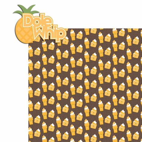 Snacktastic: Dole Whip 2 Piece Laser Die Cut Kit