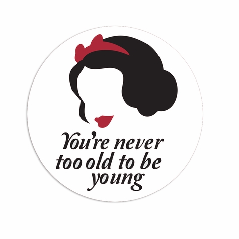Snow White: Never too old Laser Die Cut