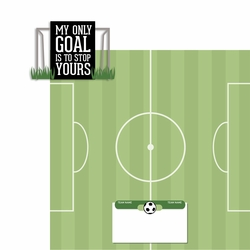 Soccer: My Goal 2 Piece Laser Die Cut Kit