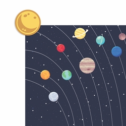 Solar System 2 Piece Laser Die Cut Kit