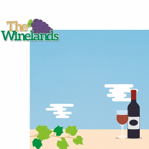 South Africa: Winelands 2 Piece Laser Die Cut Kit