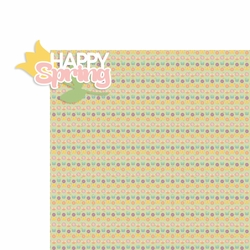 Spring: Happy Spring 2 Piece Laser Die Cut Kit