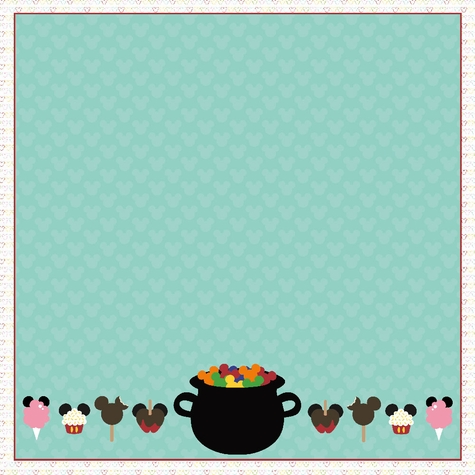Springs: Candy Cauldron 12 x 12 Paper