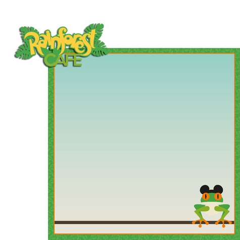Springs: Rainforest 2 Piece Laser Die Cut Kit