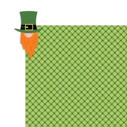 St. Patty: Leprechaun 2 Piece Laser Die Cut Kit