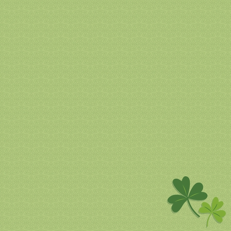 St. Patty: Lucky Me 12 x 12 Paper