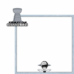 Stanley Cup: Stanley Cup Champions 2 Piece Laser Die Cut Kit