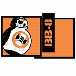 Star Wars: BB-8 3 Piece Laser Die Cut Kit