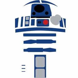 Star Wars Characters: R2-D2 12 x 12 Paper