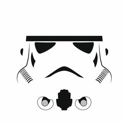 Star Wars Characters: Storm Trooper 12 x 12 Paper