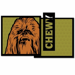Star Wars: Chewy 3 Piece Laser Die Cut Kit