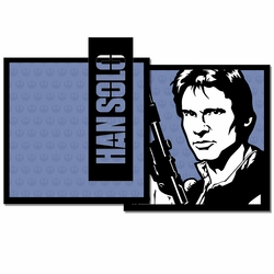 Star Wars: Han Solo 3 Piece Laser Die Cut Kit