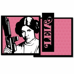 Star Wars: Leia 3 Piece Laser Die Cut Kit