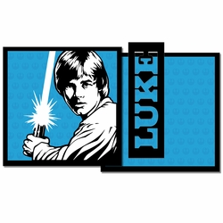 Star Wars: Luke 3 Piece Laser Die Cut Kit