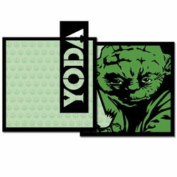 Star Wars: Yoda 3 Piece Laser Die Cut Kit