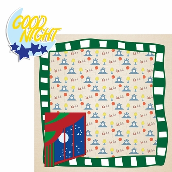 Story Time: Goodnight Moon 2 Piece Laser Die Cut Kit
