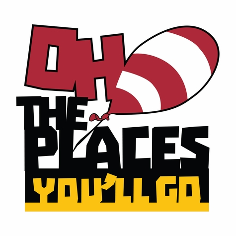 Suess: Oh The Places You'll Go Laser Die Cut