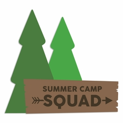Summer Camp: Summer Squad Laser Die Cut
