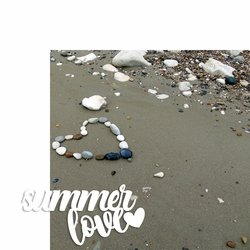 Summer Love 2 Piece Laser Die Cut Kit
